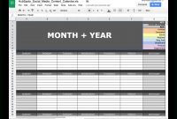 Readytogo Marketing Spreadsheets To Boost Your Productivity Today throughout Social Media Marketing Report Template