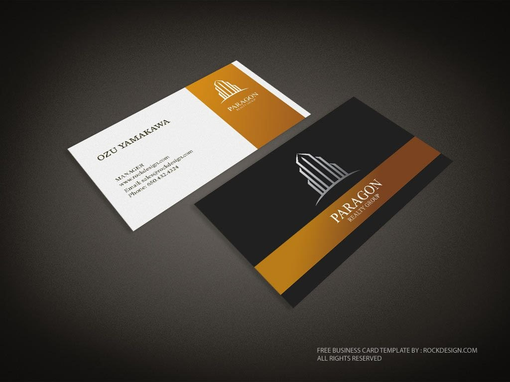 Real Estate Business Card Template  Download Free Design Templates Throughout Visiting Card Templates Download