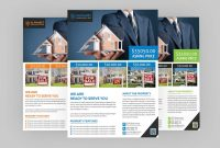 Real Estate Flyer Psd Template Free Download  Coding Bank pertaining to Real Estate Brochure Templates Psd Free Download