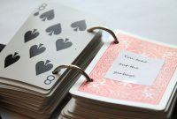 Reasons I Love You  Playing Card Book Tutorial  Emerging regarding 52 Things I Love About You Deck Of Cards Template