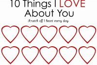 Reasons Why I Love You Cards Printable Templates Free Example throughout 52 Reasons Why I Love You Cards Templates Free