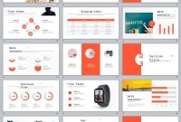 Red Company Annual Report Powerpoint Templates  Business pertaining to Annual Report Ppt Template