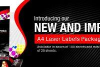 Redfern Labels  Welcome  Laser Labels  Customised Labels intended for Sticker Label Printing Template