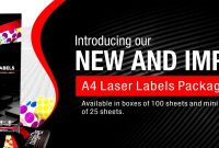 Redfern Labels  Welcome  Laser Labels  Customised Labels within 3X8 Label Template