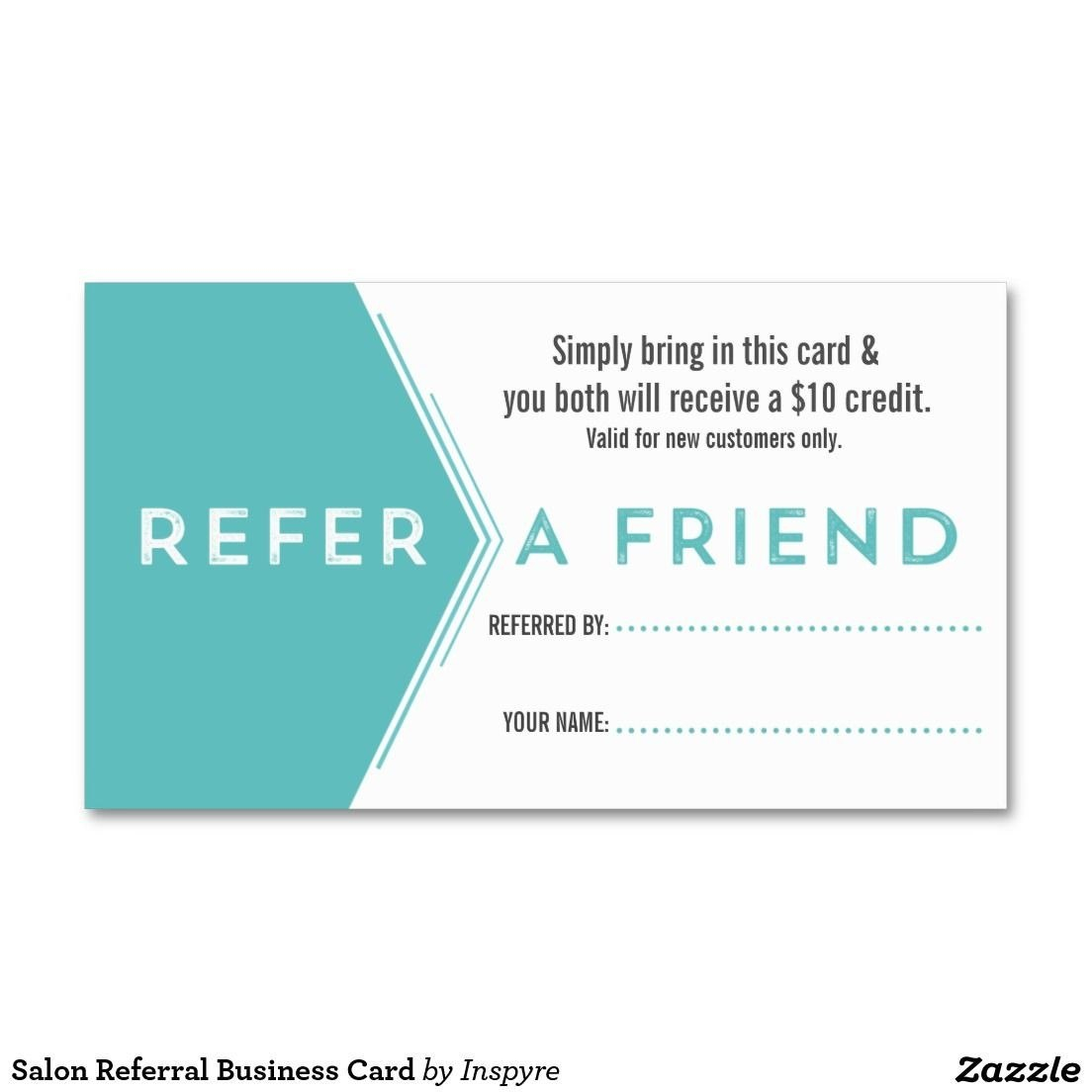 Referral Card Template  Template Ideas With Regard To Referral Card Template