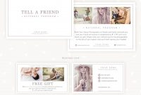 Referral Cards Referral Card Template Referral Program Tell  Etsy in Referral Card Template