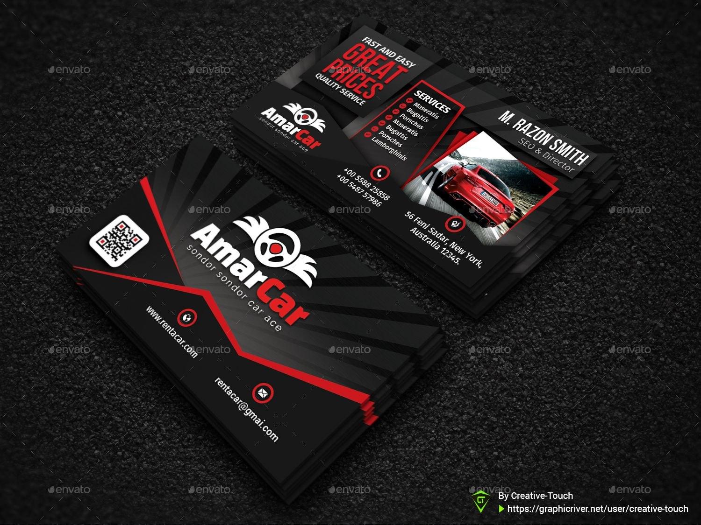Rent A Car Advertising Bundle Vol Car Rent Advertising Vol With Regard To Advertising Cards Templates