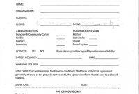 Rental Agreement Form  Municipality Of Whitestone regarding Free Facility Rental Agreement Template