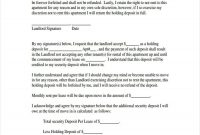 Rental Deposit Form Samples  Free Sample Example Format Download with regard to Holding Deposit Agreement Template