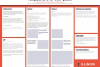 Research Poster  Campus Templates  Public Affairs  Illinois for Powerpoint Poster Template A0