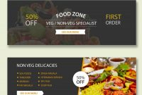 Restaurant Psd Banner Templates regarding Food Banner Template