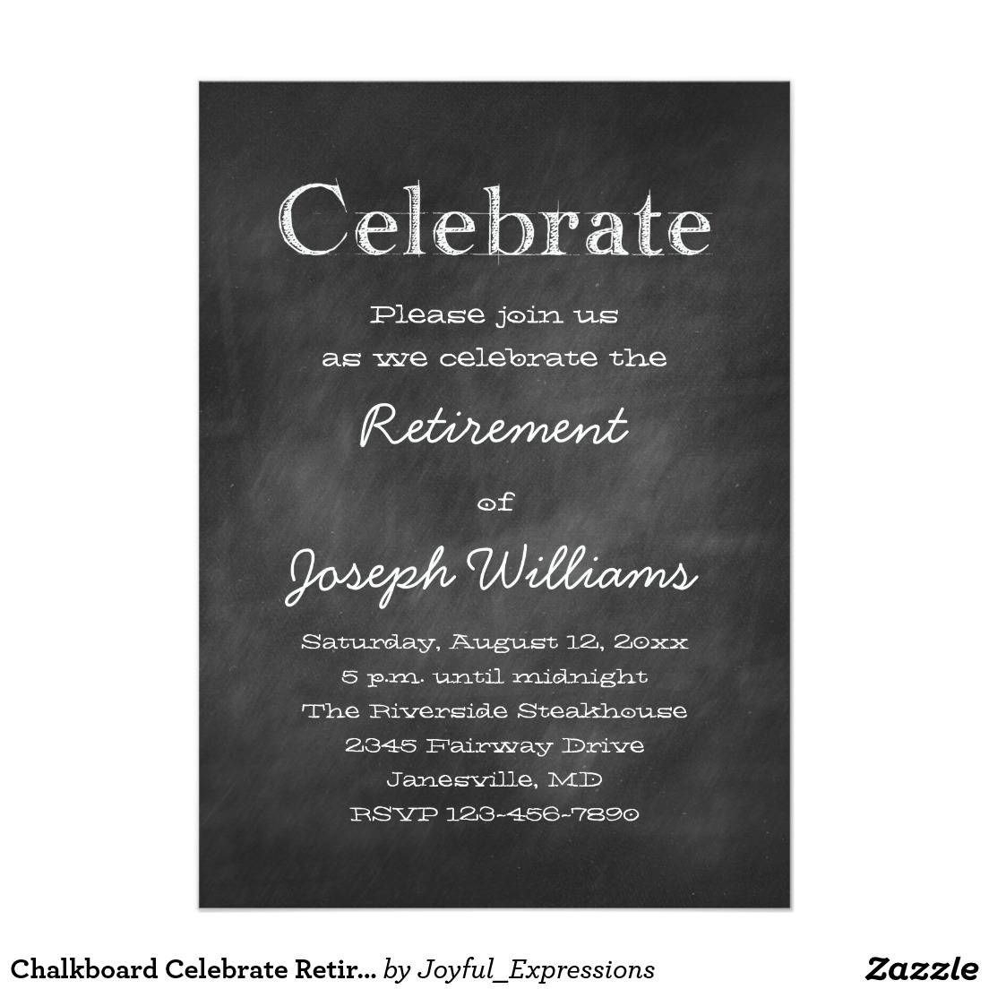 Retirement Party Invitation Template Free Ideas Excellent Card For Retirement Card Template