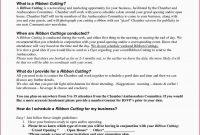 Ribbon Cutting Invitation Template  Lera Mera for Business Open House Invitation Templates Free