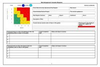 Risk Mitigation Plan Template Ideas Project Management Report throughout Risk Mitigation Report Template