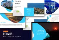 Roovos Travel And Tourism Powerpoint Template Traveling Power  Etsy inside Powerpoint Templates Tourism