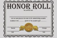 Rotate  Resize Tool Honoring Clipart Rolled Certificate within Honor Roll Certificate Template