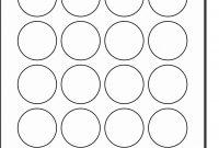 Round Sticker Template Word – Damin with regard to Round Sticker Labels Template