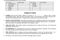 Sale Agreement Format For Mobile Phone  Fill Online Printable pertaining to Mobile Home Purchase Agreement Template