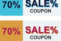 Sale Coupon Certificate Template Royalty Free Vector Image inside Sales Certificate Template