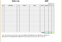 Sales Call Report Template Weekly Excel Free Daily Log Sheet pertaining to Sales Call Report Template Free