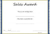 Sales Certificate Template  Sansurabionetassociats with regard to Sales Certificate Template