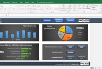 Sales Dashboard Template Excel Dashboard For Sales Managers  Etsy regarding Sale Report Template Excel