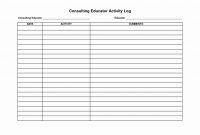 Sales Rep Activity Report Template Elegant Sales Rep Call Report regarding Sales Rep Call Report Template