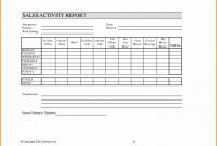 Sales Visit Report Template Then Weekly Or Ideas Fearsome Calls inside Customer Visit Report Format Templates