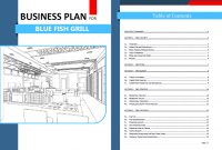 Sample Business Plan For Restaurant In The Philippines Bar Malaysia in Business Plan For Cafe Free Template