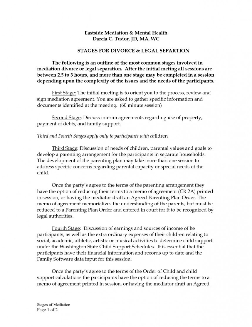 Sample Divorce Settlement Agreement Example Template Imposing Throughout Divorce Financial Settlement Agreement Template