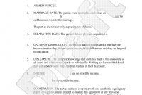 Sample Divorce Settlement Agreement Form Template  Desktop pertaining to Divorce Mediation Agreement Template