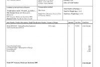 Sample Export Invoice Export Proforma Invoice Excel Invoicegenerator pertaining to Proforma Invoice Template India