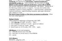Sample Labor And Delivery Soap Notes inside Soap Report Template