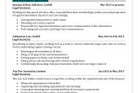 Sample Legal Resume – Concise Compelling And Attractive for Legal Undertaking Template