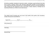 Sample Printable Termination Of Sale Mutual Releases  Form pertaining to Mutual Agreement To Terminate Contract Template