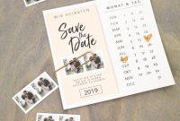 Savethedate Diyvorlagen Für Eure Hochzeit throughout Save The Date Powerpoint Template