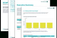 Scap Audit Report  Sc Report Template  Tenable® regarding Security Audit Report Template