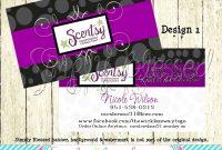 Scentsy Business Cards Scentsy Business Card Style  × Jpg V regarding Scentsy Business Card Template