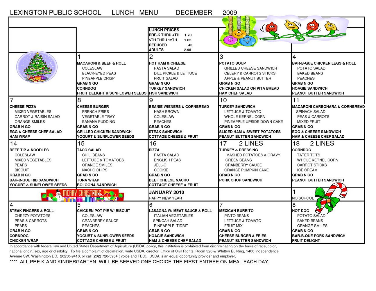 School Lunch Menu Template Best Ideas Calendar Templates For School Lunch Menu Template