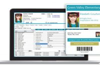 School Photo Id Cards Software  Student Id Card Software  School Within Faculty Id Card Template