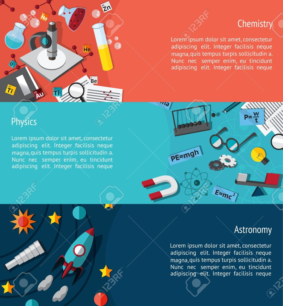 Science Education Infographic Banner Template Layout Such As Inside Science Fair Banner Template