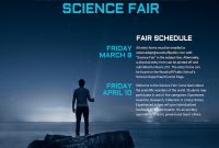 Science Fair Event Poster Template  Venngage intended for Science Fair Banner Template