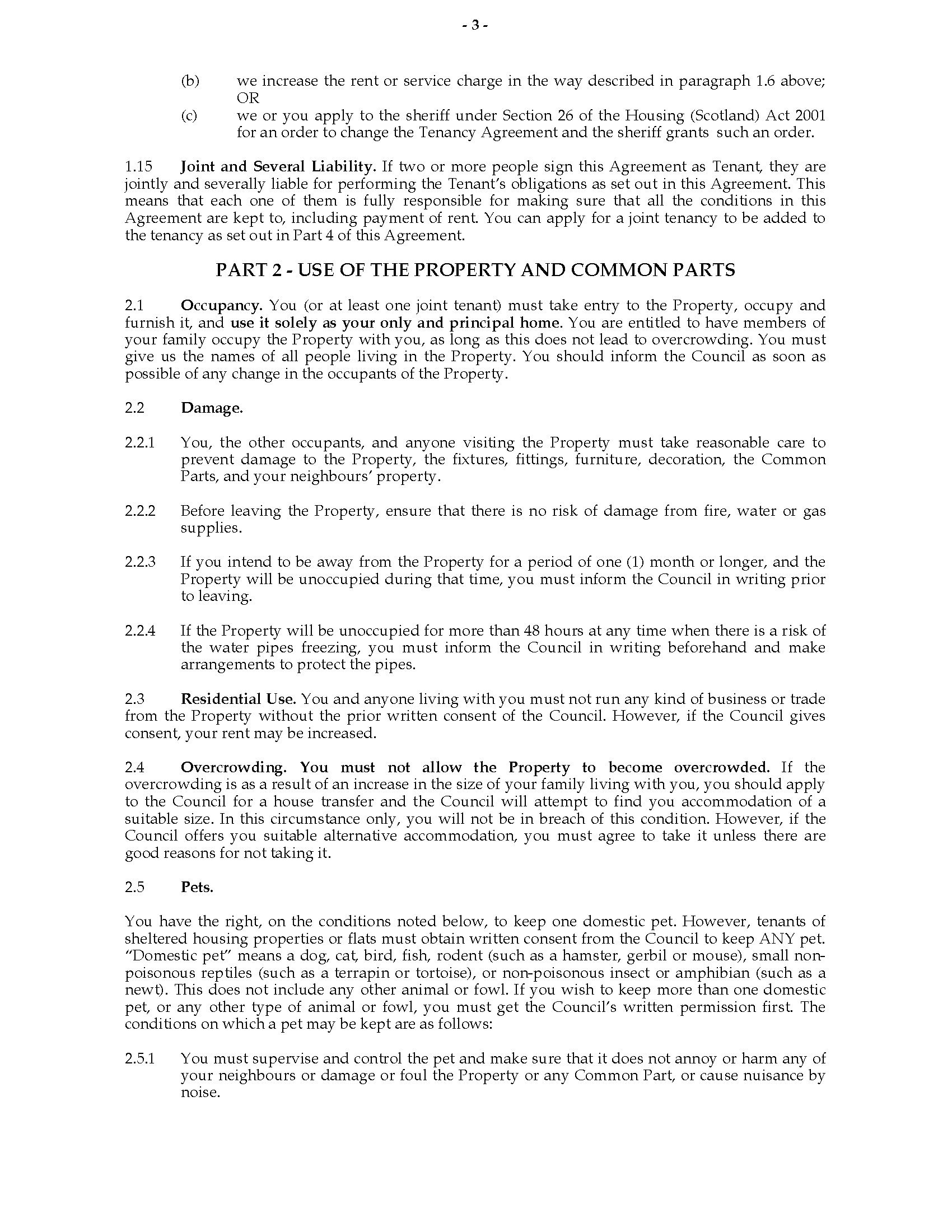 Scottish Secure Tenancy Agreement  Legal Forms And Business Intended For Scottish Secure Tenancy Agreement Template