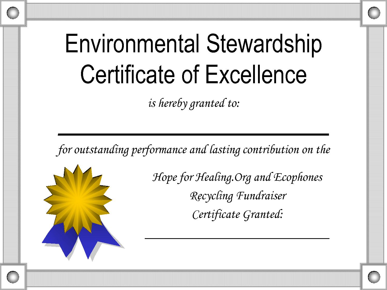 Sealpdfcertificateofexcellencetemplate Pertaining To Award Of Excellence Certificate Template