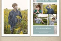 Senior Graduation Card Template Graduation Announcement Open  Etsy regarding Dominion Card Template