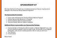 Sensational Corporate Sponsorship Proposal Template Ideas Pdf Free for Race Car Sponsorship Agreement Template