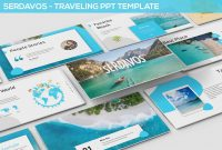 Serdavos  Traveling Powerpoint Template Travel Vacation intended for Powerpoint Templates Tourism
