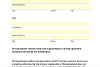 Service Agreement Template Word Img in Supplier Service Level Agreement Template