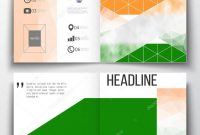 Set Of Annual Report Business Templates For Brochure Magazine for Ind Annual Report Template