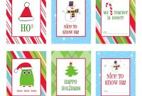 Sets Of Free Printable Christmas Gift Tags pertaining to Xmas Labels Templates Free